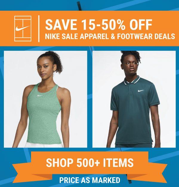 Nike Sale Tennis Gear