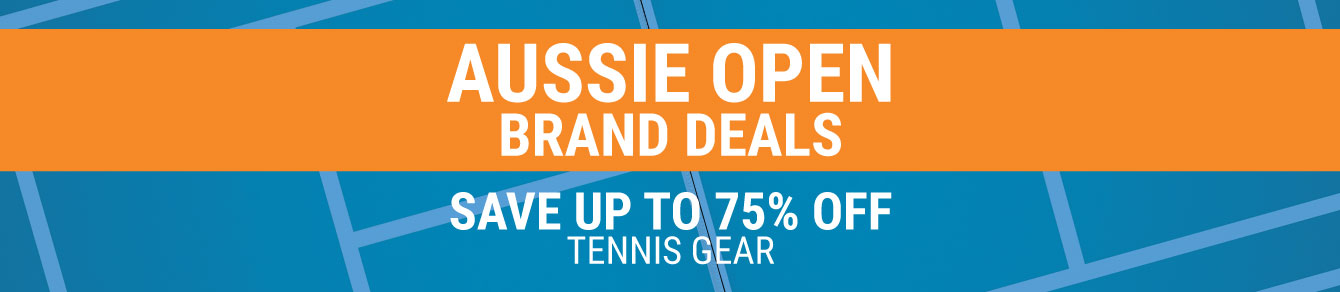 Aussie Open Tennis Sale - Tennis Apparel, Racquets, Bags, Shoes and more