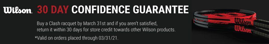 Wilson Clash Confidence