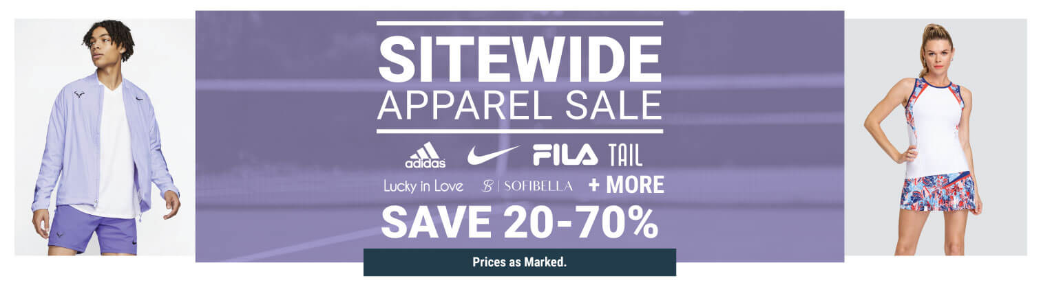 Sitewide Apparel Sale