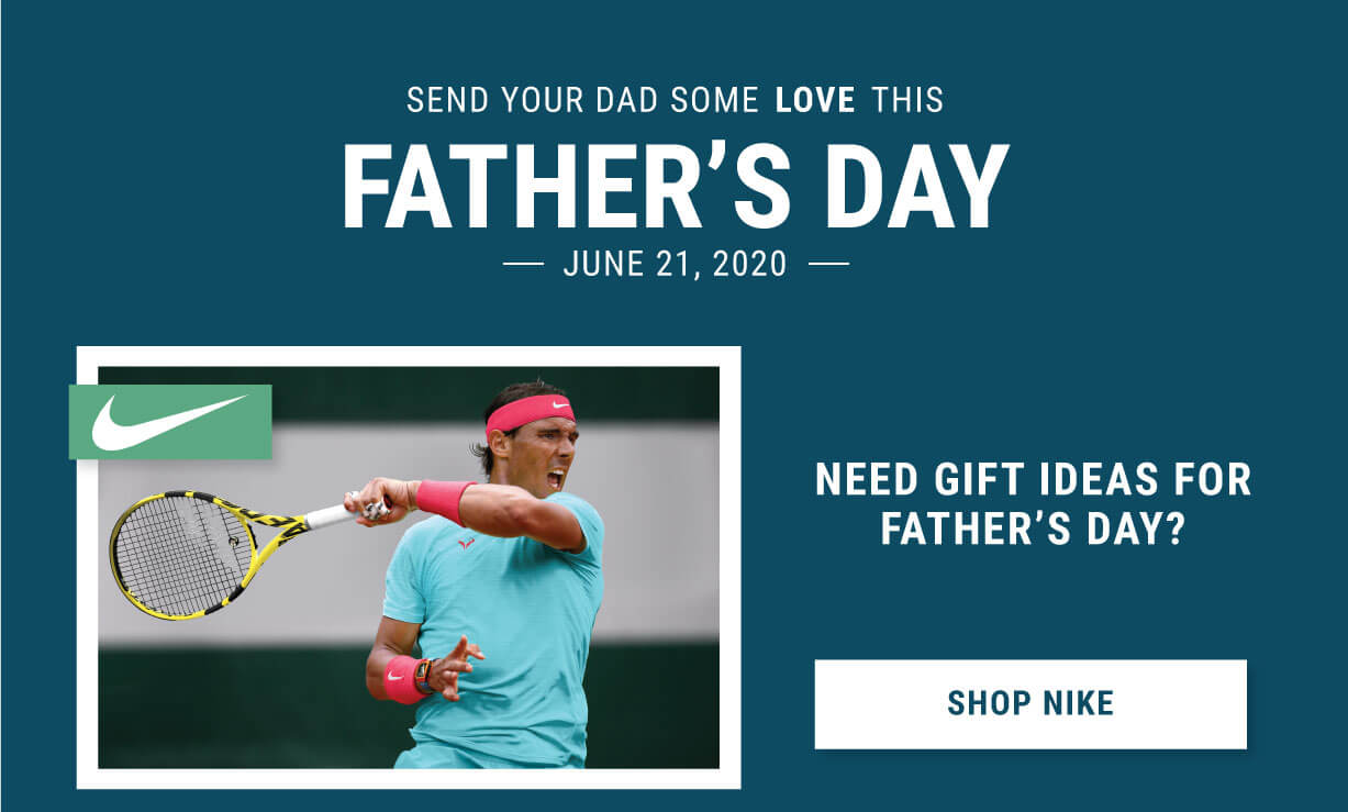 Fathers Day Tennis Gifts Nike Apparel