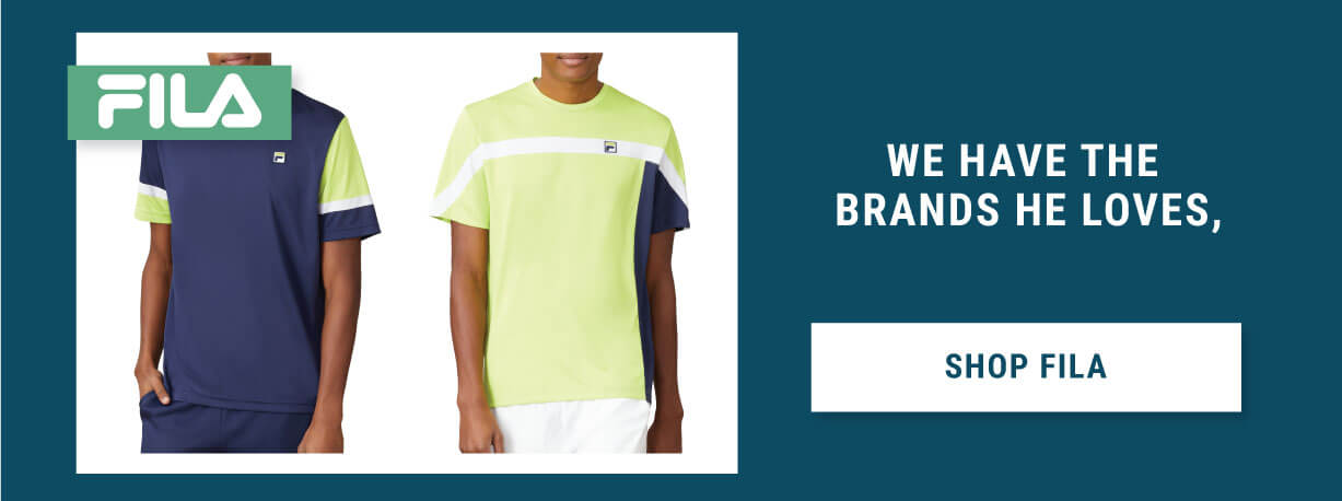 Fathers Day Tennis Gifts Fila Apparel