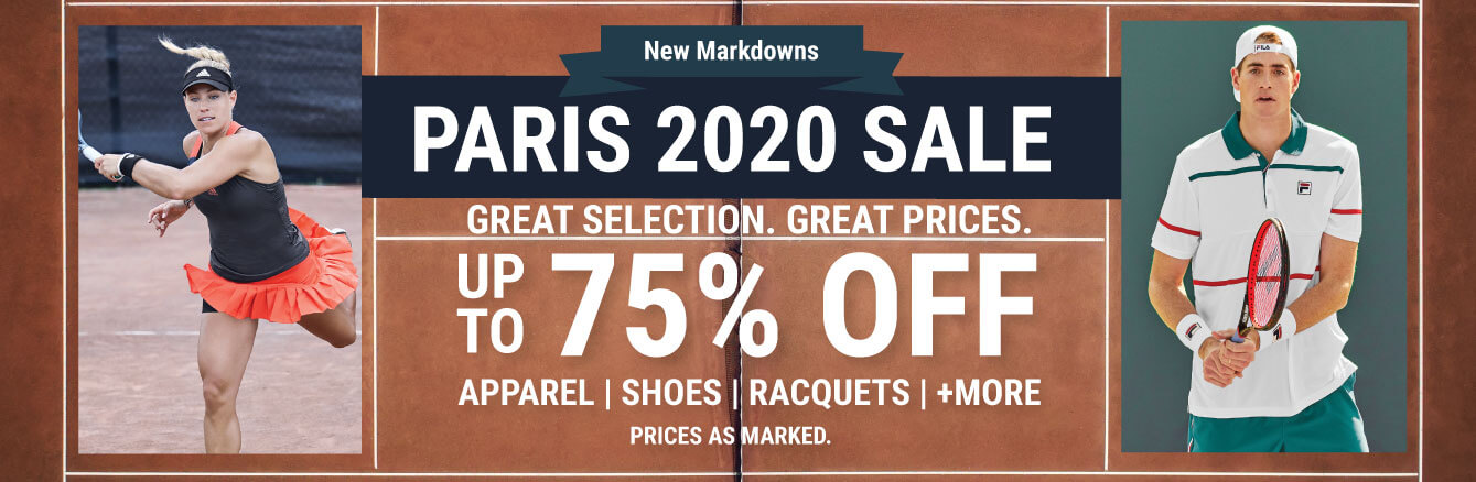 Paris Tennis Sale