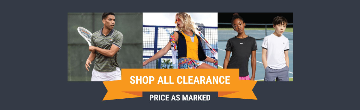 Tennis Clearance