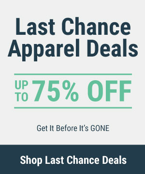 Last Chance Men's Apparel Deals