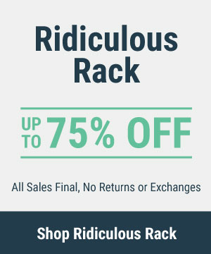 Ridiculous Rack for Women - Last Chance Apparel Deals