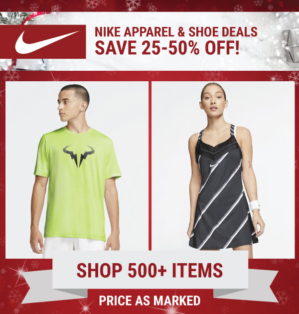 Nike Sale Tennis Gear