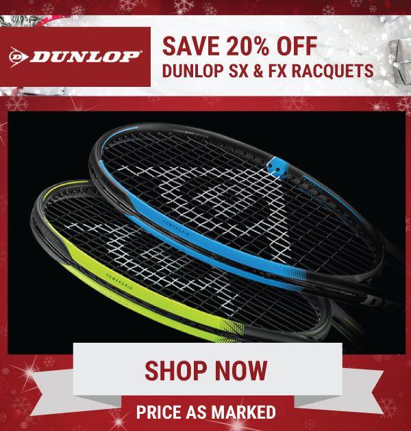 Dunlop Sale Tennis Racquets