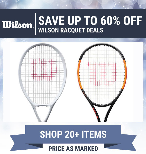 Wilson Sale Tennis Racquets