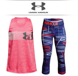 Girls Under Armour Tennis Apparel