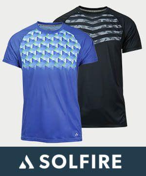 Solfire Men's Tennis Apparel