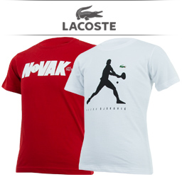 Boys Lacoste Tennis Apparel