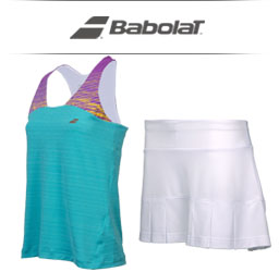 Girls Babalot Tennis Apparel