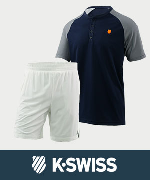 K-Swiss Mens Tennis Apparel