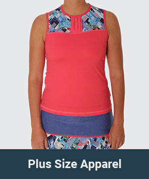 Plus Size Tennis Apparel