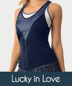 womens lucky in love apparel