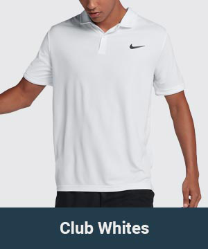 Men's All White Tennis Collection