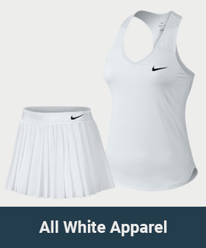All White Tennis Collection