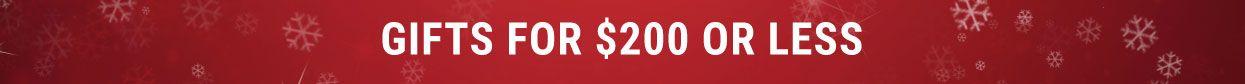 Tennis Gifts Under $200