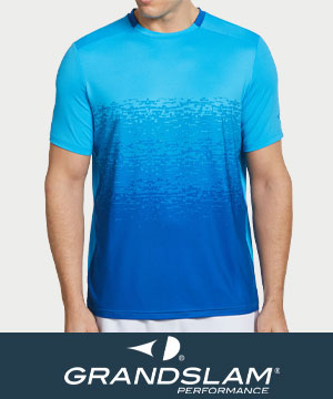 Grand Slam Men's Tennis Apparel