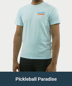 Pickleball Paradise Men's Apparel