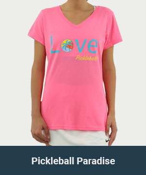 Pickleball Paradise Women's Apparel