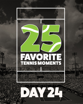 Day 24 25 Moments in Tennis