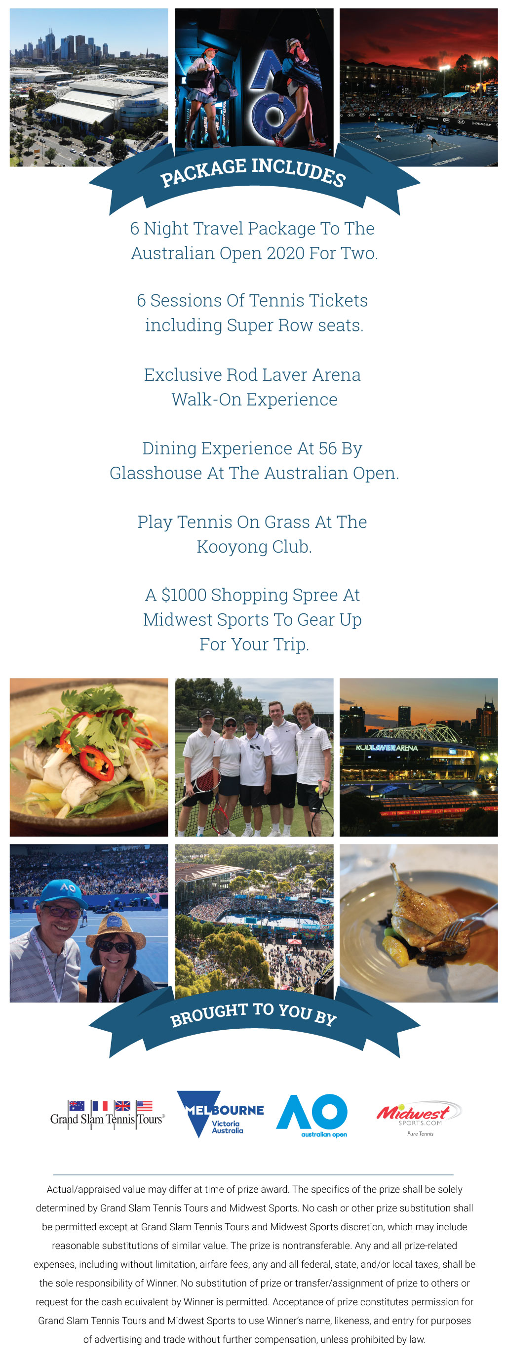 Win A Trip To The Australian Open