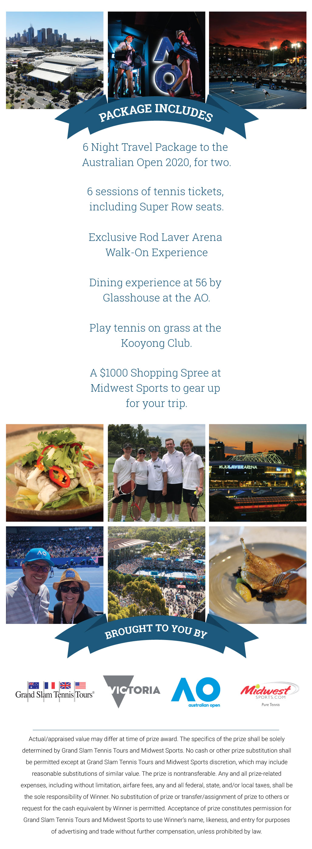 Win A Trip To The Australian Open
