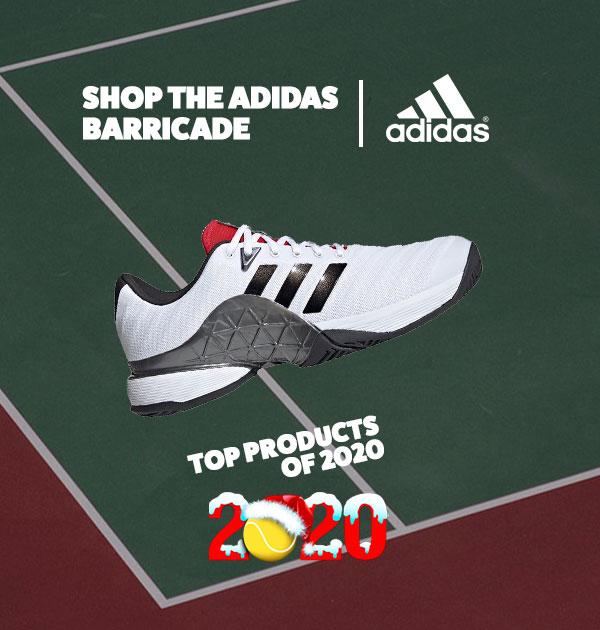 adidas Men's Barriacde Tennis Shoe
