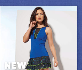 New Lucky In Love Women's Tennis Apparel