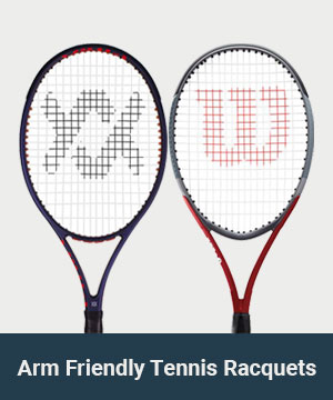 Arm Friendly Tennis Racquets