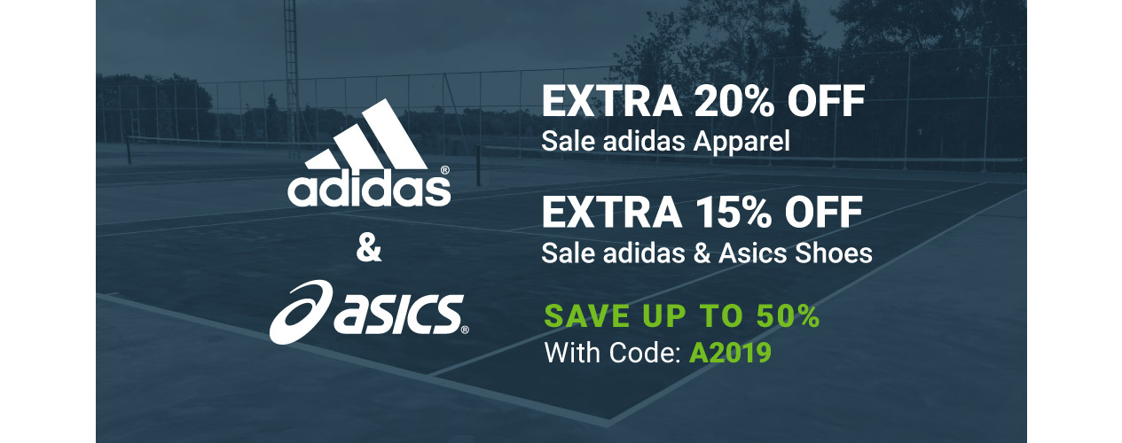 Clearance adidas And Asics Apparel and Shoes