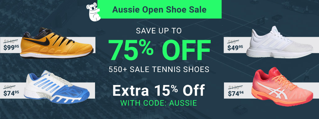 Aussie Open Shoe Sale