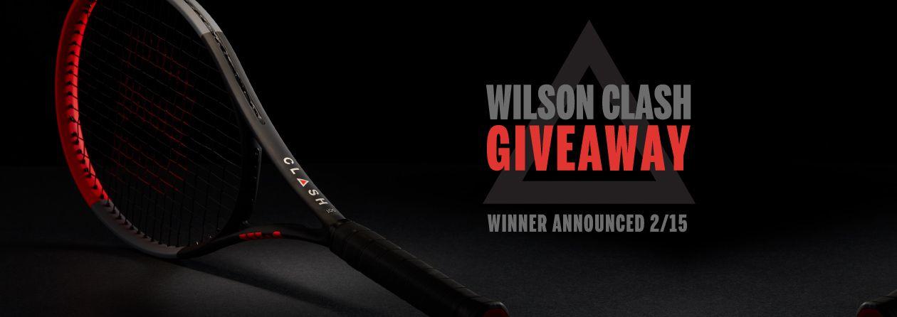 Wilson Clash Tennis Racquet Giveaway
