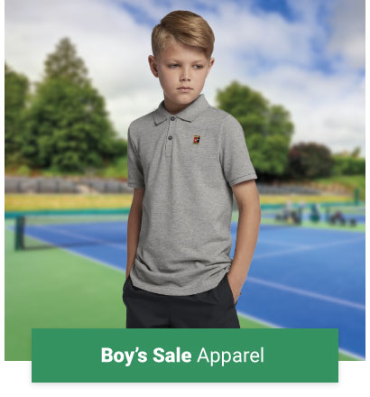 Boys Sale Tennis Apparel