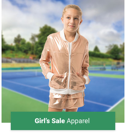 Girls Sale Tennis Apparel