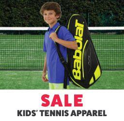 Kid's Sale Tennis Apparel