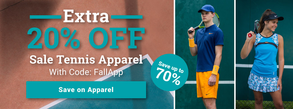 Tennis Apparel Sale