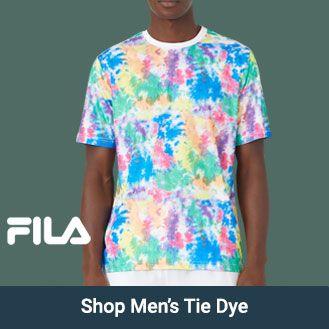 Fila Mens Tie Dye Apparel