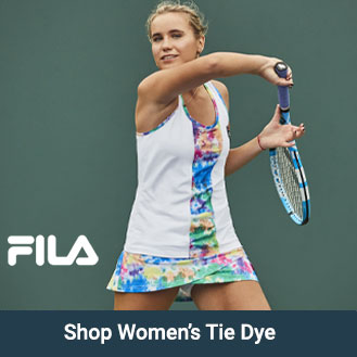 Womens Fila Tie Dye Apparel