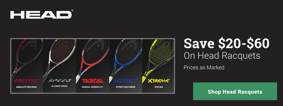 Head Tennis Racquet Sale