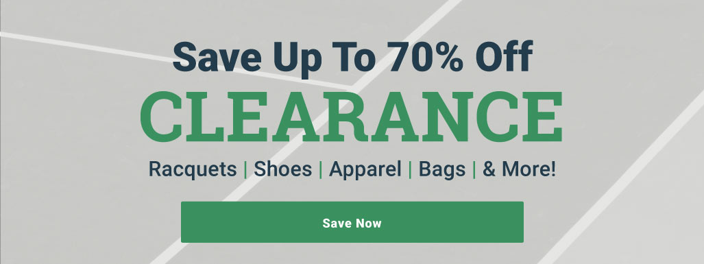 Shop All Tennis Clearance