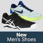 Offering a large selection of new men's tennis shoes for Fall 2017