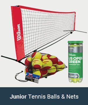 Junior Tennis Balls & Nets
