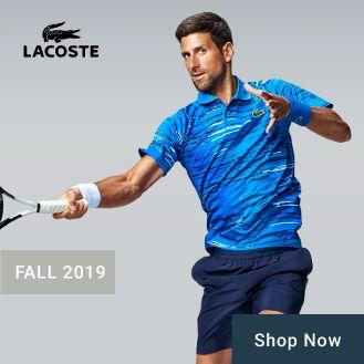 Lacoste Men's Tennis Apparel