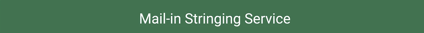 Stringing Service