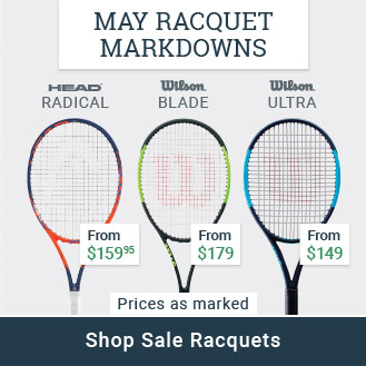 May Racquet Mark Downs