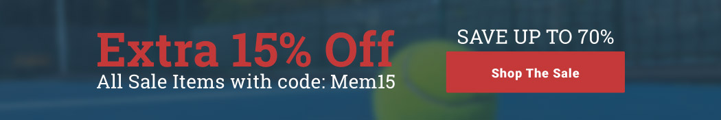 Memorial Day Tennis Sale