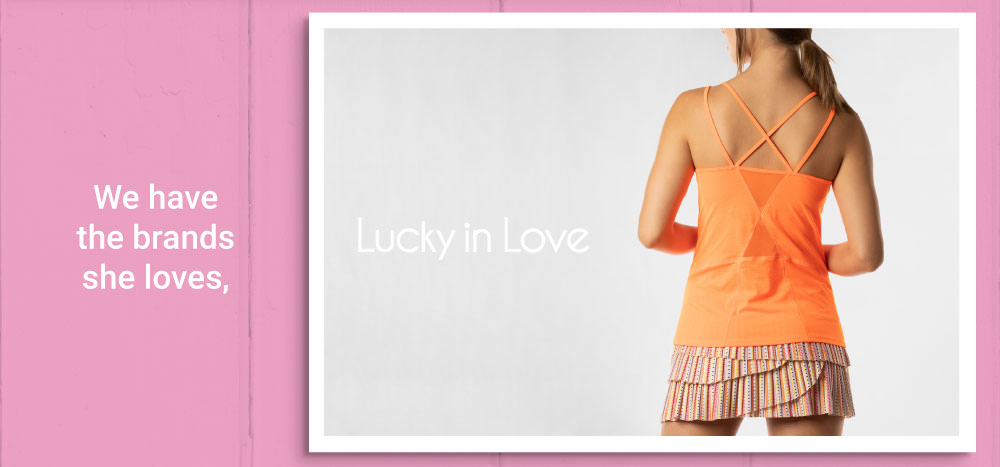 Mothers Day Tennis Gifts Lucky In Love Apparel